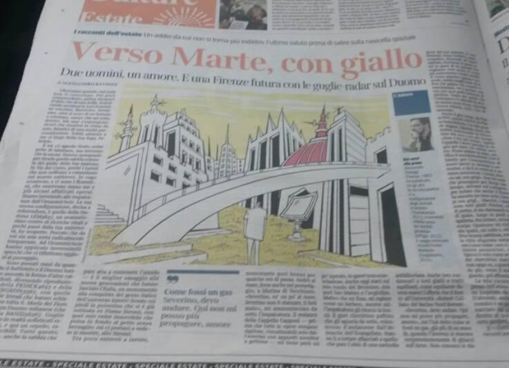 racconto Corriere Fiorentino RAVEGGI