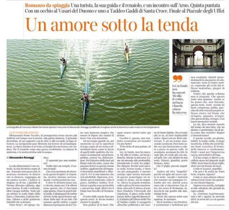 Romanzo da spiaggia Corriere Capitolo V