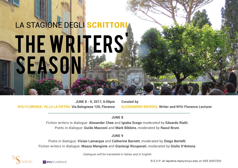 Writers Season 2017